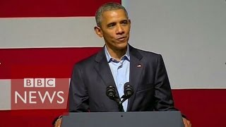 Download Barack Obama's words of advice for Kanye West - BBC News Video