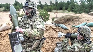 Download Army Troops Fire Anti-tank Missile and Mortars Video