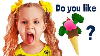 Download Do You Like Broccoli Ice Cream? with Roma and Diana Video