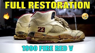 Download OG 1990 FIRE RED V FULL RESTORATION!! (TRASH TO TREASURE) Video