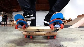 Download THE TWO MAN SKATEBOARD   IS THIS POSSIBLE?! Video