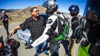 Download POLICE vs BIKERS   COP RESPONDS ON HIT & RUN INCIDENT   [Episode 107] Video