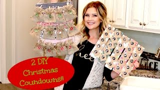 Download 2 DIY Christmas Countdowns!! Video