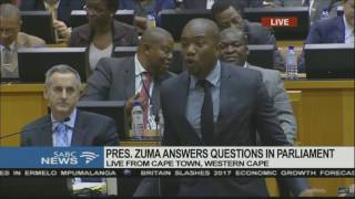 Download Mmusi Maimane asks President Jacob Zuma WHY he deliberately misled Parliament Video