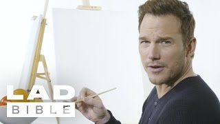 Download Chris Pratt And Dave Bautista From 'Guardians Of The Galaxy Vol. 2' Paint Each Other's Portrait Video