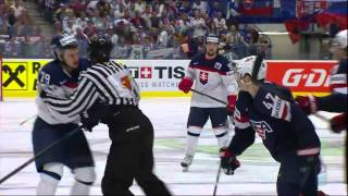 Download USA vs Slovakia Fight 2015-05-12 IIHF 2015 WC HIGHLIGHTS Swedish/Svenska Video