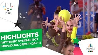Download Highlights Day 11 I Rhythmic Gymastics Individual & Group #Napoli2019 Video