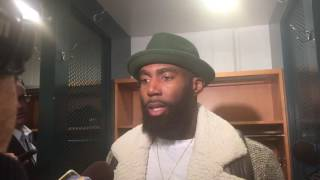 Download Eagles safety Malcolm Jenkins discusses Aaron Rodgers, third-down performance after loss to Packers Video