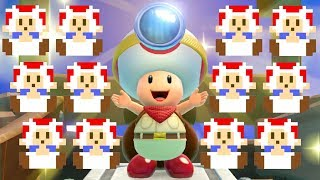 Download Captain Toad Treasure Tracker - All Pixel Toads Locations Video