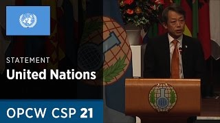 Download Message from the United Nations Secretary- General delivered by Mr Kim Won-soo at CSP21 Video