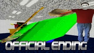 Download THE END - Baldi's Basics in Education and Learning v1.3.2 Video