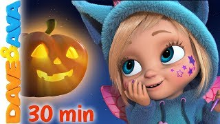 Download 🔔 Little Pumpkin - Halloween Songs for Kids | Nursery Rhymes by Dave and Ava 🔔 Video