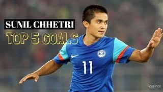Download Top 5 best Goals by Indian Captain Sunil Chhetri Video