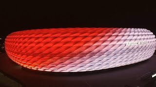 Download New Philips LED façade lighting at the Allianz Arena Video