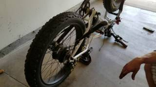 Download Removing the Rear Tire on the RadRover 2016 eBike! Video