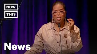 Download Oprah Winfrey Delivers Speech at Women's E3 Summit at the Smithsonian | NowThis Video