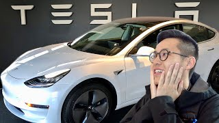 Download PICKING UP MY NEW CAR!! (Tesla Model 3) Video