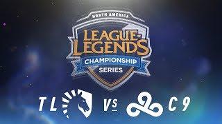 Download TL vs. C9 - Week 9 Day 1   NA LCS Spring Split   Team Liquid vs. Cloud9 (2018) Video