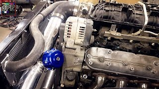 Download TURBO 5.3 LS FAB WORK! Blow Off Valve + Flush Mounting Rad | S-10 Budget Boost Build Video