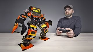 Download Unboxing a $1300 Professional Fighting Robot Video