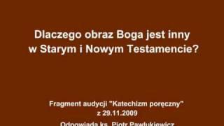 Download Ks. Pawlukiewicz - Dlaczego obraz Boga jest inny w Starym i Nowym Testamencie Video