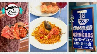 Download Gemma Eats...Barcelona Secret Food Tour | BEST Paella, Tapas, Jamon & More Spanish Food! Video