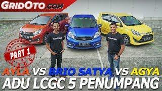 Download Brio Satya vs Ayla vs Agya | Komparasi | GridOto | Part 1 Video