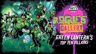 Download 10 Greatest Green Lantern Villains - Rogues' Gallery Video