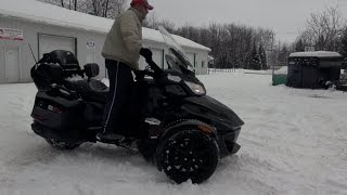 Download Can-Am Spyder in the SNOW !!! Can you ride ? Spyder TV Video