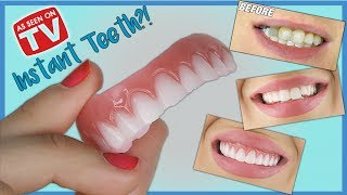 Download *New* INSTANT SMILE Press On Veneers Demo & Review | How do they look? Video
