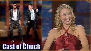 Download Zachary Levi & Yvonne Strahovski - The Main Cast Of Chuck Video