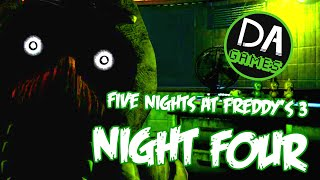 Download FIVE NIGHTS AT FREDDY'S 3 NIGHT FOUR (HALLUCINATIONS? NAH!) - DAGames Video