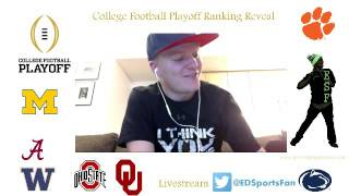 Download College Football Playoff Ranking Reaction Week 14 Video