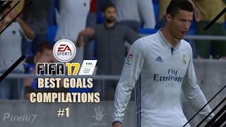 Download FIFA 17 : BEST GOALS COMPILATIONS #1 - by Pirelli7 Video