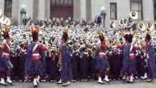 Download IRISH GUARD and ND Victory March Video
