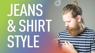 Download How to pull off the Jeans & T-shirt Look Video