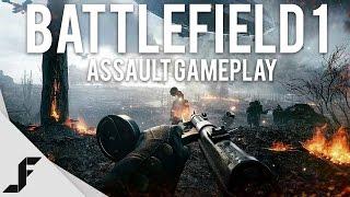 Download BATTLEFIELD 1 ASSAULT GAMEPLAY - Insane Graphics! Video
