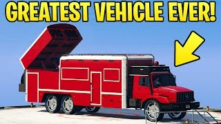 Download GTA Online: Benefactor Terrorbyte Review - THE GREATEST VEHICLE EVER! (Should You Buy) Video