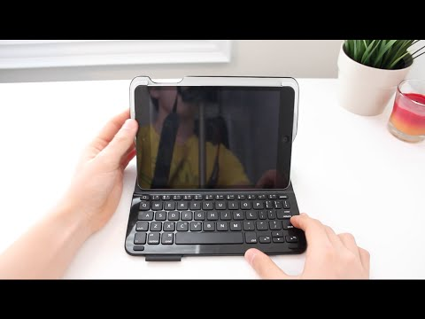 Ultrathin Keyboard Folio Case for the iPad Mini Review