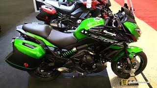 Download 2018 Kawasaki Versys 650 ABS - Walkaround - 2018 Montreal Motorcycle Show Video