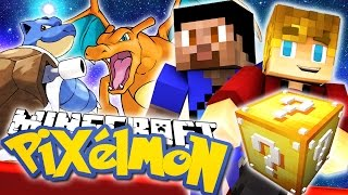 Download Minecraft Lucky Block *New* Pixelmon Challenge w/Lachlan & Vikk Video