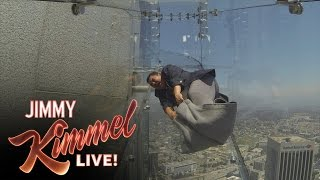 Download Guillermo Tries the Terrifying Skyslide Video