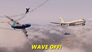 Download 747 Pilot Can't Figure Out Autopilot & CRASHES (Flight Sim X Multiplayer) Video