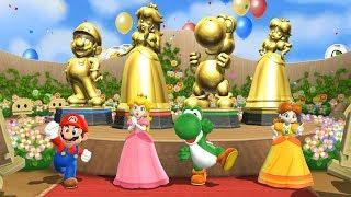 Download Mario Party 9 Special Step It Up - Everybody Won| Mario, Peach, Yoshi, Daisy| Cartoons Mee Video