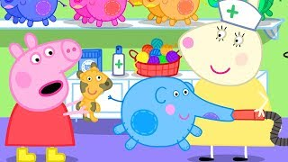 Download Peppa Pig Official Channel | More Stuffing for the Elephant Doll at the Doll Hospital Video