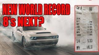 Download WORLD RECORD FASTEST Dodge Demon | update-Record lost Video
