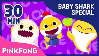 Download Baby Shark Compilation | Holiday Sharks and more | Animal Songs | Pinkfong Songs for Children Video
