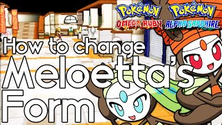 Download How to Change Meloetta's Form – Pokemon Omega Ruby and Alpha Sapphire – Pokemon ORAS How to Video