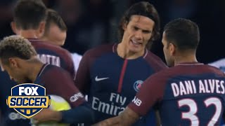 Download PSG's Neymar and Cavani clashed over free kick and penalty duties against Lyon | FOX SOCCER Video