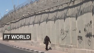 Download Israel extends its high-tech barriers I FT World Video